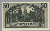 Notgeld - Schierke - Gemeinde Schierke - 50 Pfennig - 1921 - Bild 2