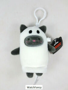 Costume Critter Backpack Clip Cat as Ghost Halloween Plush FigurineTarget