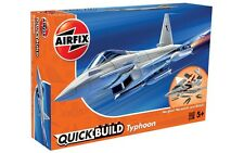 Airfix J6002 - Eurofighter Typhoon - Quick Build Snap Kit (Plastic Model Kit)