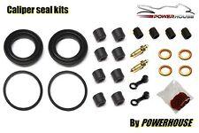 Kawasaki KZ 1000 ST E2 Shaft front brake caliper seal repair rebuild kit 1980 80