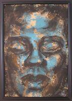 VINTAGE AFRICAN AMERICAN CHICAGO WPA ARTIST WILLIAM McBRIDE JR MODERN PAINTING