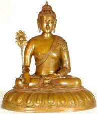 """Large Size Vintage Rate handcrafted Buddha Home Décor Sculpture 29"""""""