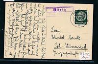 90387) DR > DDR Landpost Ra2 Göritz über Prenzlau, Karte 1937