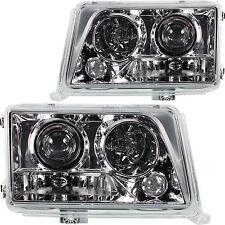 Scheinwerfer Set Satz Klarglas chrom DE Licht Mercedes W124 Bj. 93-97 Facelift