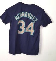 Felix Hernandez Jersey Shirt Youth Medium Seattle Mariners King