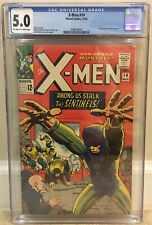 X-MEN #14 CGC 5.0 1ST FIRST APPEARANCE OF THE SENTINELS STAN LEE STORY