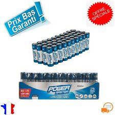 Lot de 40 Pile Alcaline LR6 Type AA Sans Mercure Plomb Batterie Haute Capacite