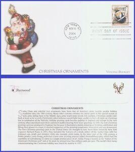 USA5 #3889 U/A FLEETWOOD FDC   Blue Santa Ornament