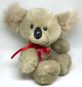 Avon Plush Koala Teddy Bear 1989 Seam Tag 12in World of Wonderful Bears Vintage
