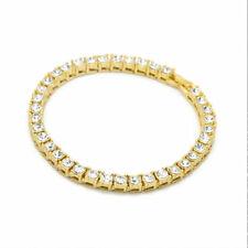 1PC Men Women Fashion Crystal Rhinestone Bracelet Bangle Hip hop Jewelry Gift