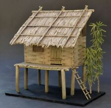 DioDump DD150 Vietnamese stilt hut - 1:35 scale resin diorama building model