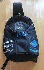 Cincinnati Flying Pig Marathon Single Strap Backpack Black with Graphics