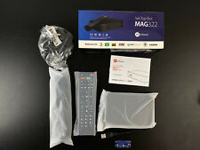 MAG 322 Latest Original Infomir Linux HEVC H.265 IPTV Set Top Box 254 UK