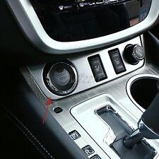 For Nissan MURANO 2015 ABS chrome matte interior Control of cigarette lighter