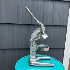 RA Chand Commercial Citrus OJ Juicer Good Used Condition No Strainer Stainless