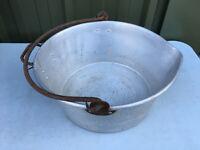 Aluminium jam making pan Lot BL199519N