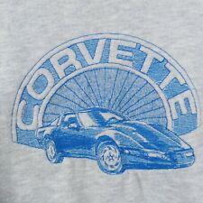 Lee Crewneck Sweatshirt White Embroidered Corvette