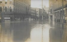 High Water, Spring 1913, Rochester NY vintage Real Photo RPPC unused