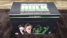 The INCREDIBLE HULK COMPLETE SERIES SEASON 1 2 3 4 5 BOXSET LOU FERRIGNO DVD R4