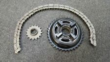 Genuine Royal Enfield Electra Chain Sprocket Kit 16 teeth 16T