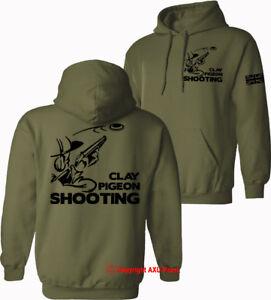 Clay Pigeon Shooting hoodie game birds clay pigeon trap vest trophies HOODIES