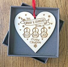 Personalised Christmas Decorations For Grandparents From Kids Decorations Gifts