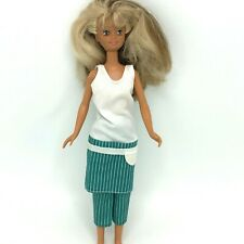 Mattel Vintage 1987 Teen SKIPPER Doll Twist 'N Turn Two Tone Hair Two Outfits