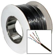 50 meter CAT5e Outdoor Use Network LAN Cable Reel Solid UTP 100% Pure Copper 50m