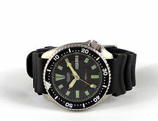 Seiko 6309-7290 Divers Watch Men Vintage 150M Automatic Stainless Steel #2881
