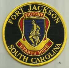 Fort Jackson South Carolina U.S.Army Patch Basic Training Soldier Rifleman Usa