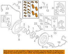 LAND ROVER OEM 14-15 Range Rover Sport Brake-Rear Pads LR079910
