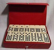 Cardinal Brand Double Nine Domino Tiles + Original Case + Sealed 55 Pieces