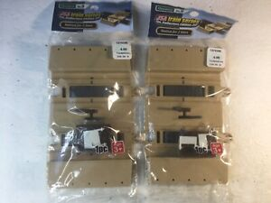 USA Train Series Collectors Edition 2x Train Station For 2 Lines Diorama No9 NR!