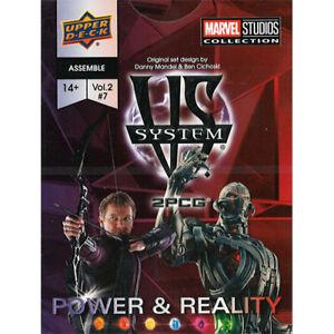 Vs. System 2PCG: Assemble - Power & Reality
