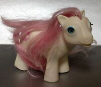 Vintage Hasbro 1986 G1 My Little Pony Baby Sundance China Pink Beddie Bye Eye
