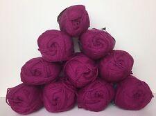 Lot of 10 Skeins Bear Brand Wool and Shetland Wool Yarn Color 303 Vintage