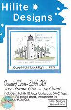 Cross Stitch Kit ~ Historic Lighthouse Cape Hitchinbrook, AK #HD277 OOP SALE!