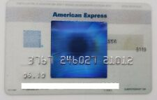MEXICO - AMERICAN EXPRESS - EXPIRED CREDIT CARD - TRANSPARENT