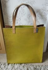 Orla Kiely vintage thick leather bag
