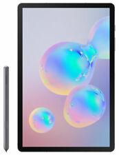 "Samsung Galaxy Tab S6 Tablet, Android, 128GB, 6GB RAM, LTE, 10.5"", Mountain Grey"
