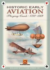 Historic Early Aviation (1783-1909) Playing Cards New