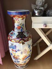 Chinesische Porzellan Bodenvase Blumen & Vögel  Wunderschön + Dekorativ!!!