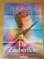 Filmposter * Kinoplakat * A1 * Die Zauberflöte * WA * Bergmann * Mozart