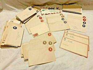 Vintage - MEGA Lot of Unused Pre-Stamped Postage - Ronald Reagan + More!!