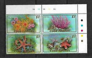 2007 Fauna - Corals Block of 4 x  $1   MUH/MNH Sold as per Scan