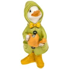 Puddle Duck With Watering Can Animal Ornament Figurine Collectable Gift