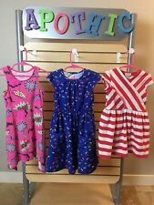 Lot of 8 Girls Summer Dresses and Skort, Sz 5/6