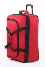 Maletas y equipaje rojos con 2 ruedas