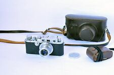 1935 Leica IIIa Camera Body #183666 with 5cm f3.5 Elmar Lens Excellent working