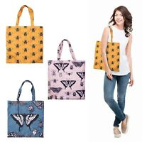 INSECTS FOLDABLE SHOPPING BAG - Reusable Eco Grocery Storage Tote Handbag *NEW**